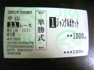 2001年皐月賞