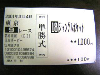 2001年東京優駿