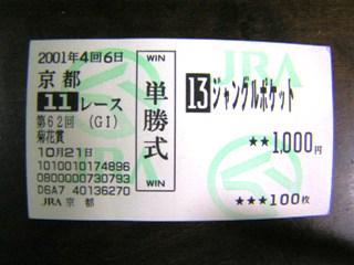 2001年菊花賞